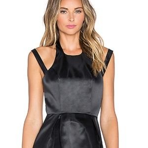 REVOLVE Lovers + Friends Fit and Flare Black Dress
